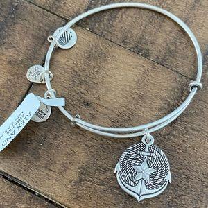 "Alex and Ani ""Anchor"" Bracelet"